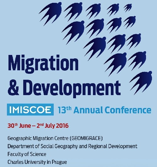 13th IMISCOE Annual Conference (Prague, June 30-July 2, 2016)